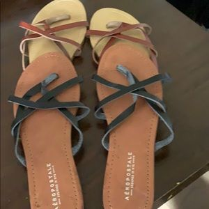 Aeropostale Sandals x2